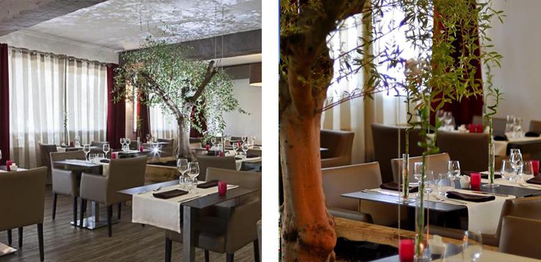 Le Restaurant - L'étape Site Officiel - Restaurant Bouc Bel Air